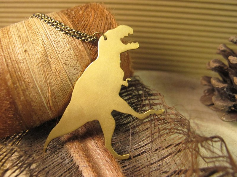 [Dinosaur friends - Big Tyrannosaurus necklace]