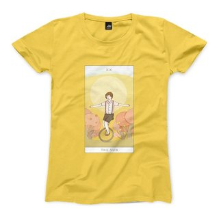 XIX | The Sun - yellow - Women's T-Shirt