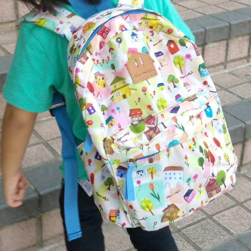 Home sweet Home print Kids backpack (seamless print series)