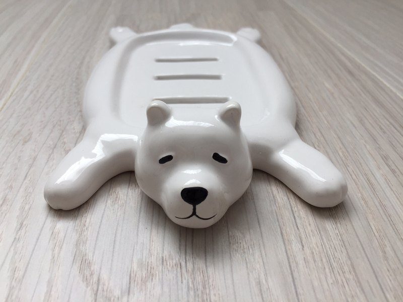 Polar Bear Soap Dish