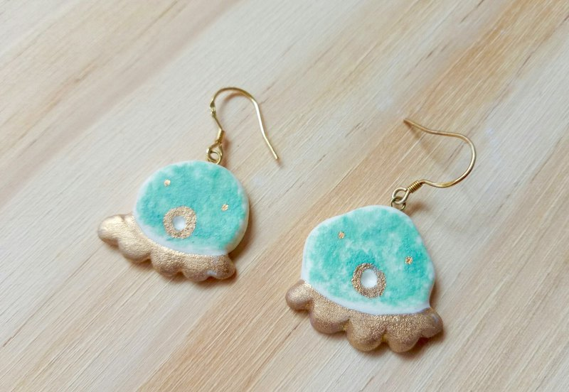 Fairy tale octopus earrings