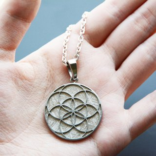Unlimited | Flower of Life pendant Tiantie (single fall)