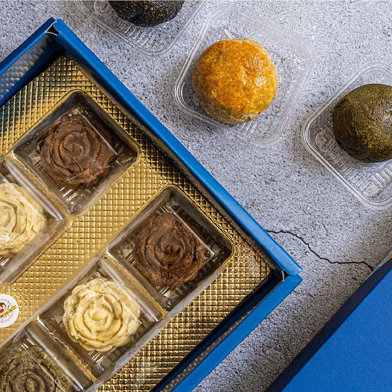 【清香鐵觀音豆沙禮盒】中秋月餅/生酮甜點/伴手禮