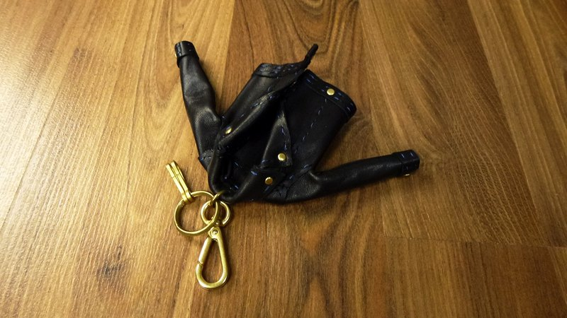 Exclusive special handmade mini leather (black horse leather)