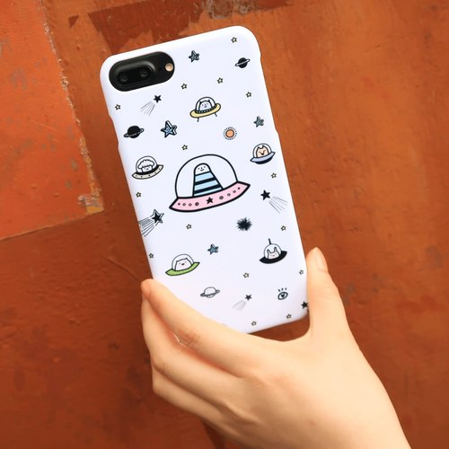 Custom phone case (can be signed !!!) - 01 alien friends # iPhone # Custom # special gift