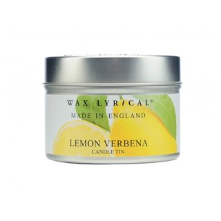 British Candles MIE Series Lemon Verbena Tin Candles