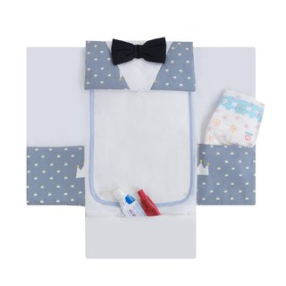 Portable diaper pad (little gentleman)