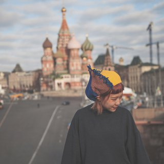 moscow_russian circus beret. limited edition