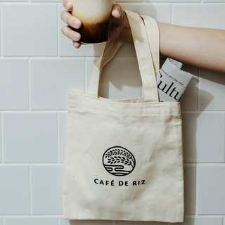 Rice traders happy canvas bag - Small