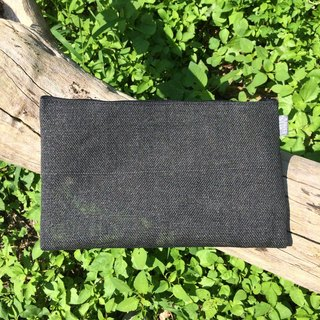 Paper Cord Pouch - Large (Black)