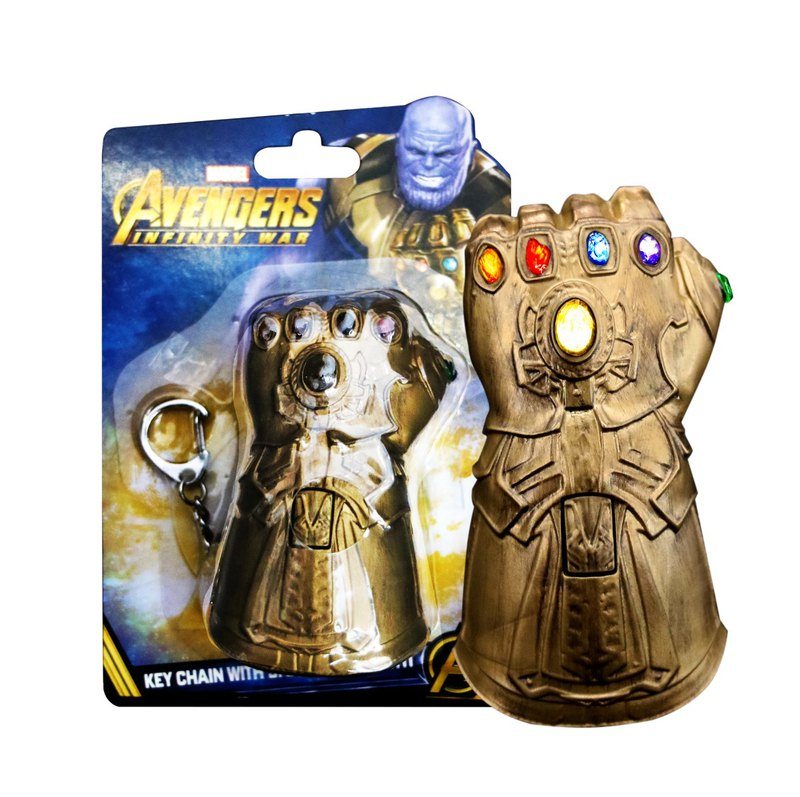 Key Chain with smaillflashlight (Infinity Gauntlet)