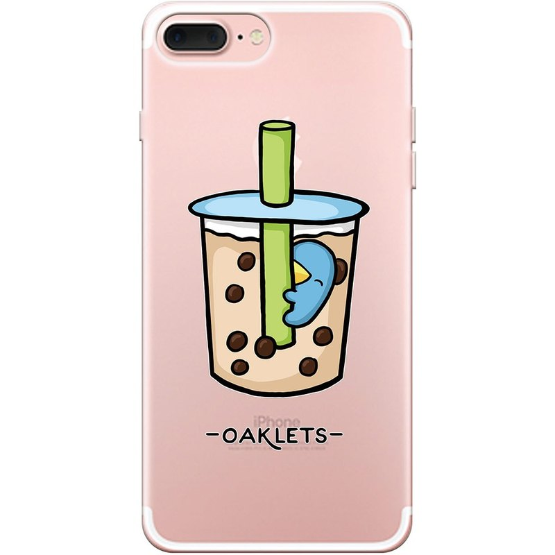 "New series - [bubble tea] -Oaklets-TPU phone case ""iPhone / Samsung / HTC / LG / Sony / millet / OPPO"", AA0AF144"