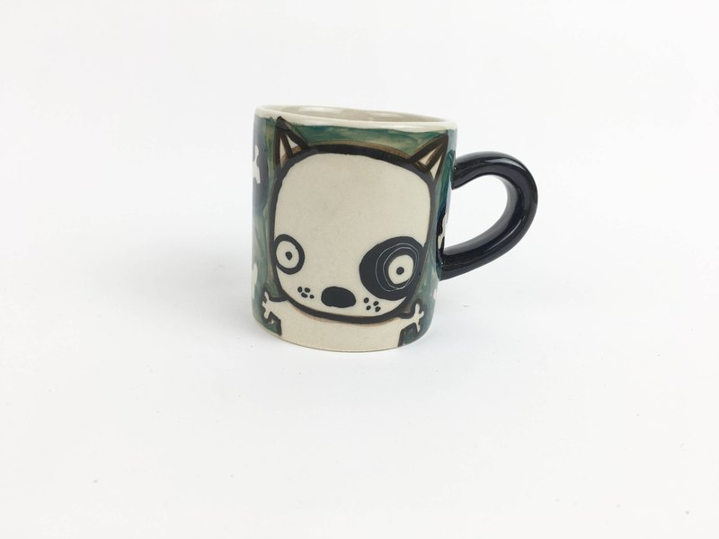 Nice Little Clay Little Mug - Black Wheel 0133-06