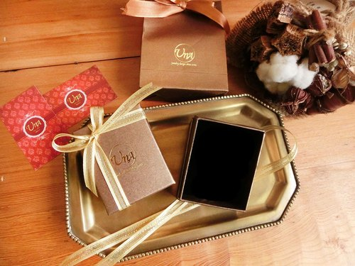 [Na UNA- excellent hand-made gift essential] - exquisite gift box set exquisite bags + Gift Box