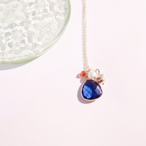 · Blue glass stone · Classical water droplets · Neck neck ·