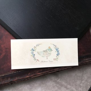 Happy Blue Bird Card / Wedding Card