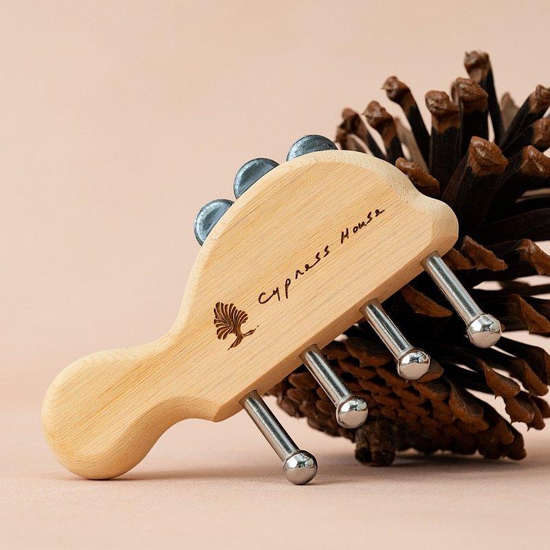 #台灣檜木磁能按摩梳 | 入內選購2入組現省60元