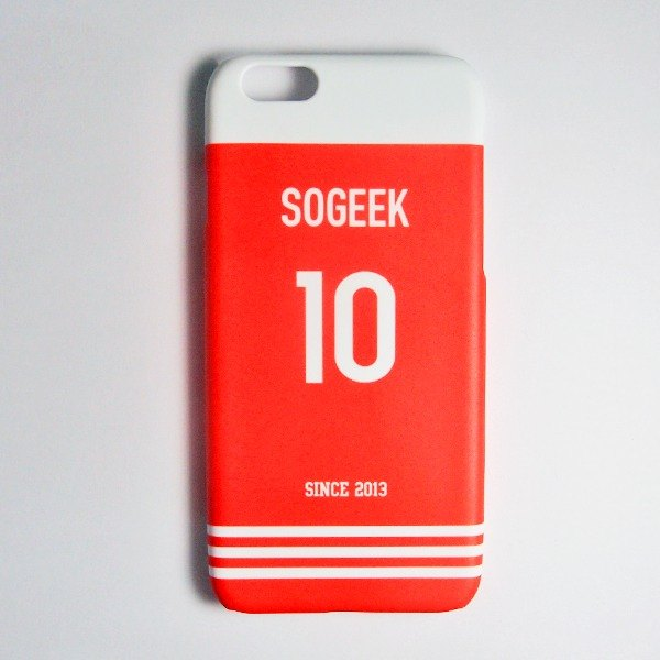 SO GEEK phone shell design brand THE JERSEY GEEK shirts back number Customized paragraph 057