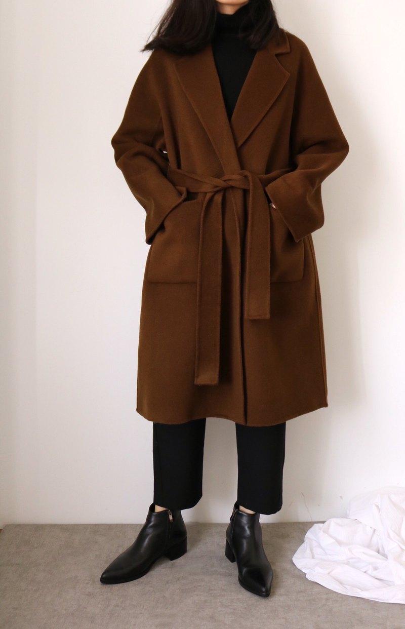 Ren Coat 手縫咯什米爾羊毛大衣 多色訂做