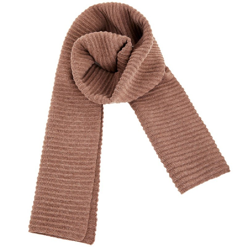 KOOW Resurrection warm thick wool cashmere corrugated long scarf