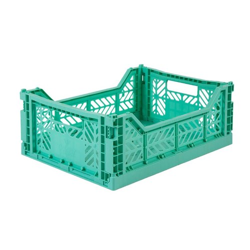 Turkey Aykasa folding basket (M) - mint green