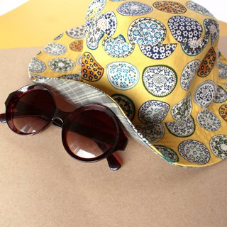 Double-sided Yellow Buket Hat