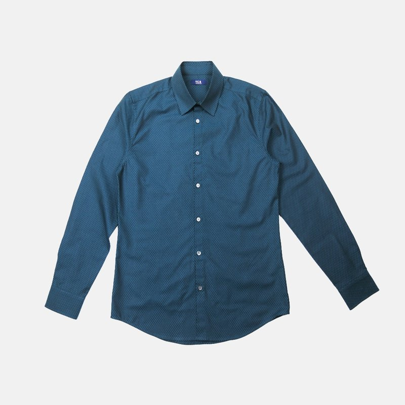Smith Green Cotton Shirt