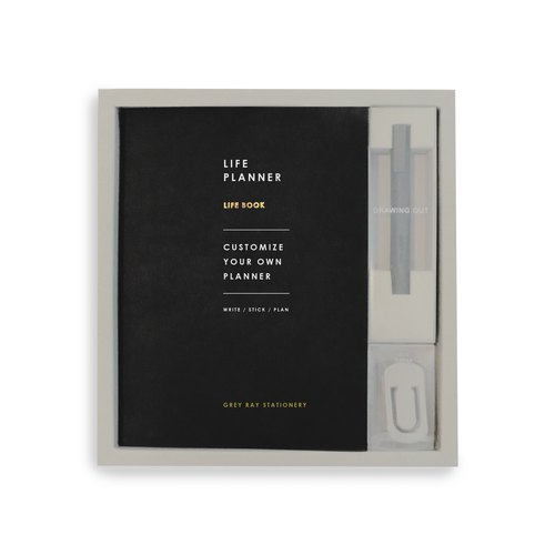 Life Planner Set ( Night Black )