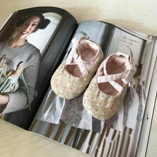 120 Norway apricot flower X Norway pink little handmade strap baby shoes baby shoes toddler shoes