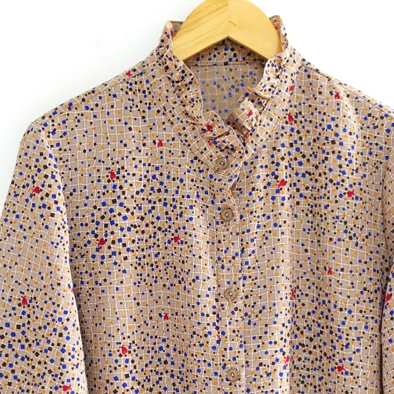 │Slowly│ Fragmented memory - vintage shirt │vintage. Retro. Literature. Made in Japan