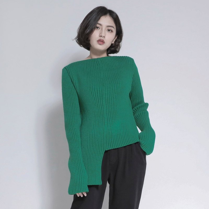 Splendid smashed super long sleeve shirt_7AF005_Jade