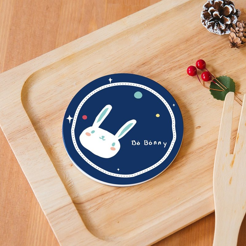 Space Journey Ceramic Suction Coaster