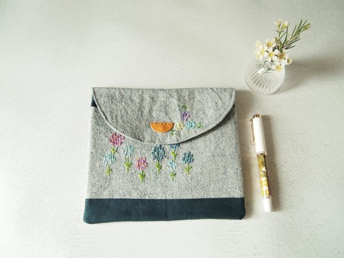 6 into the pen plant embroidery pen pencil case