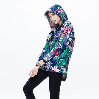 Promac streamlined functional waterproof jacket - tropical blue - Himalayan woman - Lu Chengwei paragraph