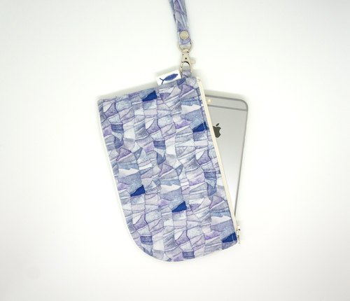 /Blue Monday// Hanging neck/phone pack