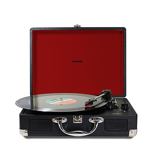 All in one Portable Stereo Turntable with Built in Speakers