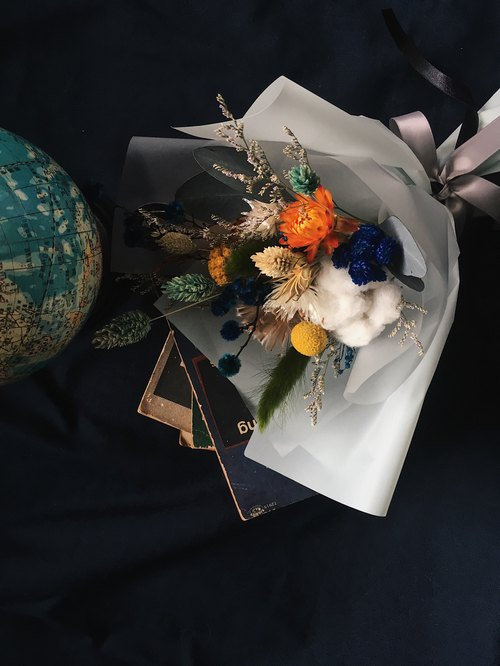 Graduation dry bouquet