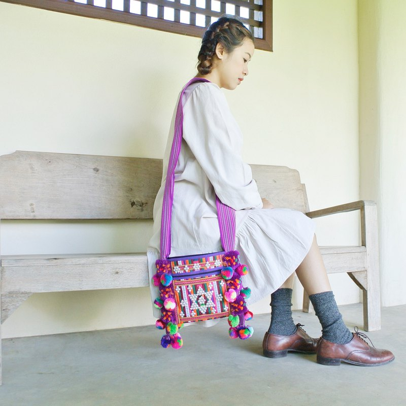 "Cloth Bag ""tribe"" Lahu tribe."