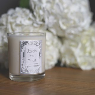 Handmade Soy Candles (Large) - Sunset Flower Sea