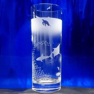【Marine Aquarium】 Long Tumbler