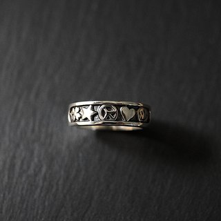 Sterling Silver Antiwar Ring Antiwar
