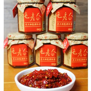 【Mao Yan people. Miaodi urn] handmade secret pepper sauce 180ML college students did not recommend