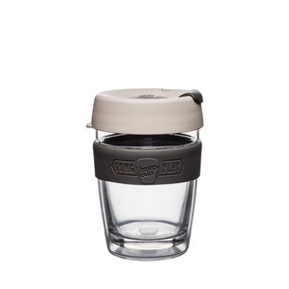 KeepCup LongPlay -Twin Wall Glass Cup M - Milk
