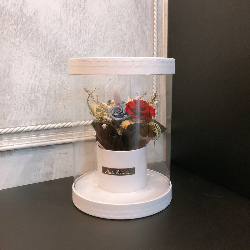 [Meet Everlasting] Small bouquet cylinder gift box