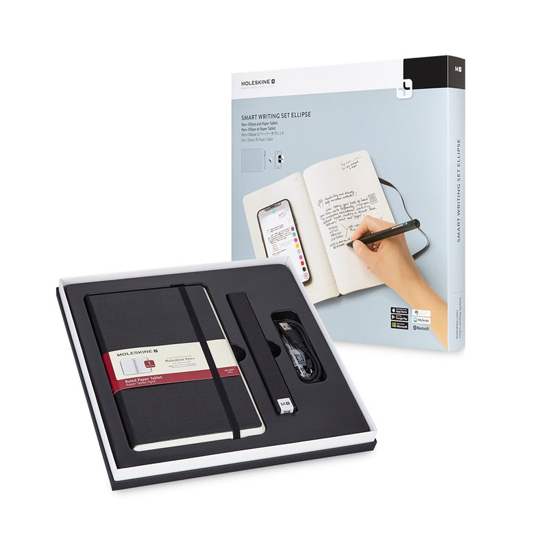 MOLESKINE second generation smart notebook group PEN+ Ellipse