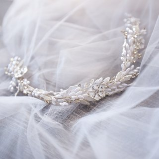 [Josie] bridal hair accessories hand-made jewelry, wedding jewelry