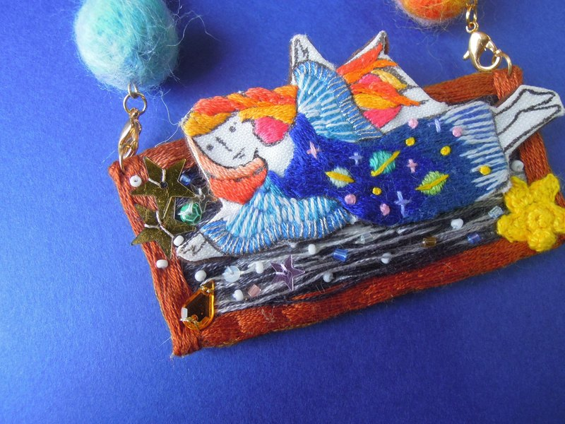 LITTLE ME in the Universe brooch + necklace