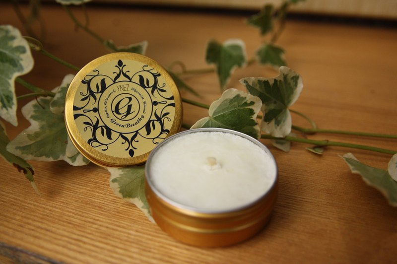 【YNEZ 】 Green Breathing Aromatherapy Candle Experience Box