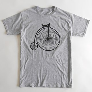 High Wheel Bicycle-Men's Ladies Unisex T-shirts,Vintage Bike,Heritage Bike