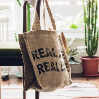 真實人生潮麻包 Real Life KK Jute Bag